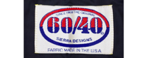 Original 60/40 Parka label