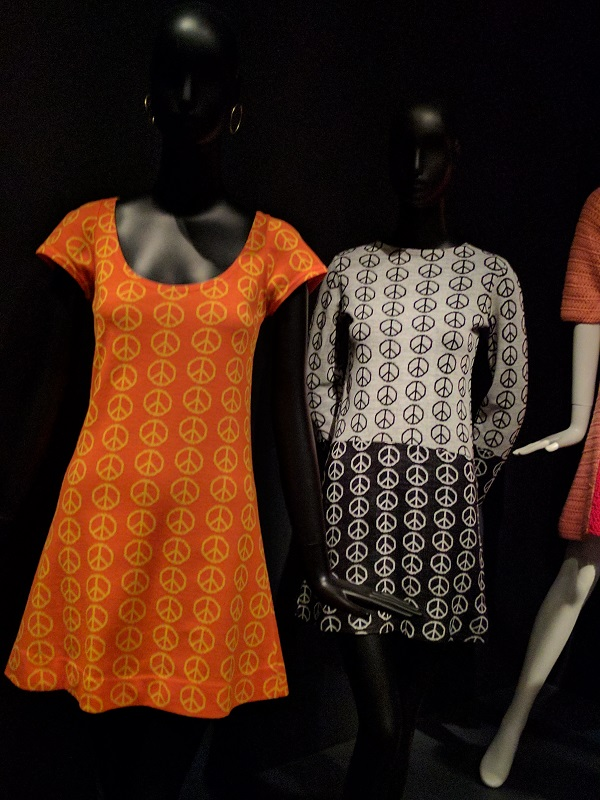 Alvin Duskn Knits Peace Dress - photo from de Young Summer of Love Exhibit