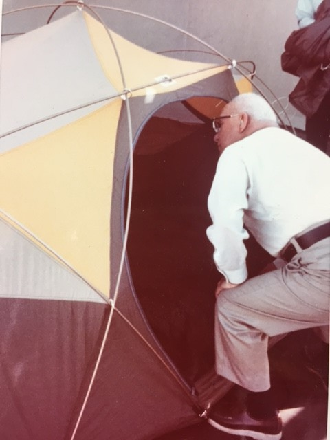 R Buckminster Fuller explores a The North Face Oval Intention
