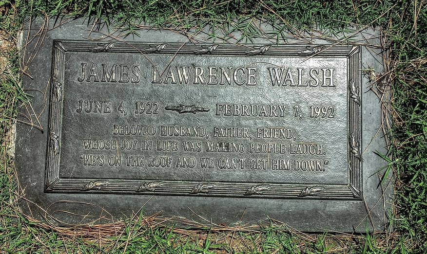 James Lawrence Walsh gravestone