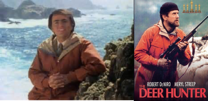 Carl Sagan / Robert DeNiro
