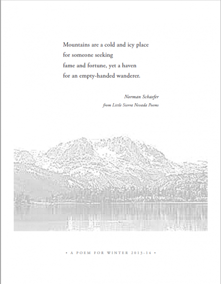 Victor Ichioka's Winter Solstice Poem 2013