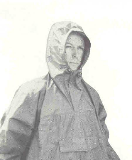 Bob Swanson in the 1968 Sierra Designs Catalog