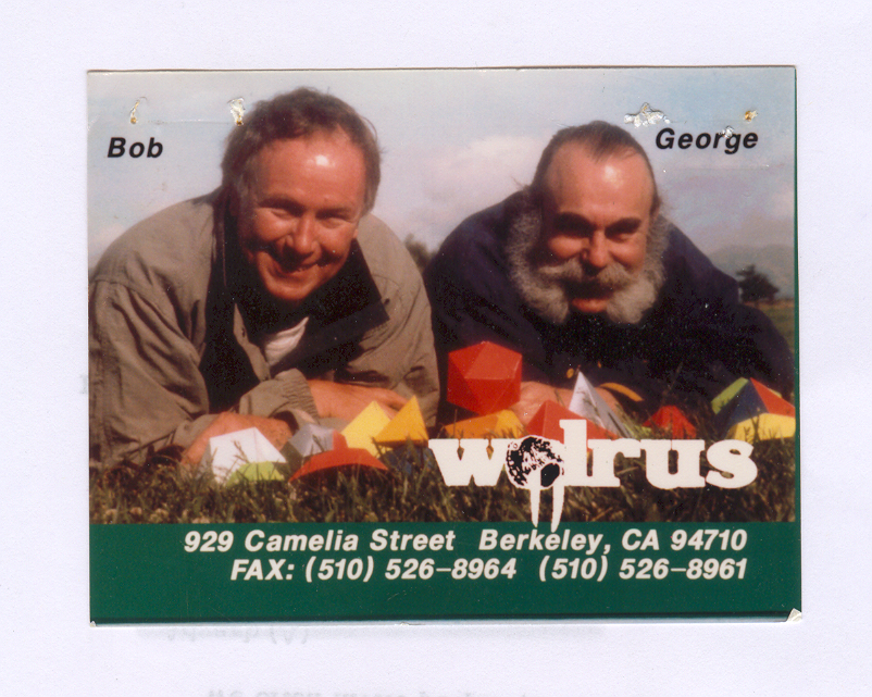 Walrus Tents Calling Card