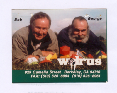 Bob & George at Walrus Tents