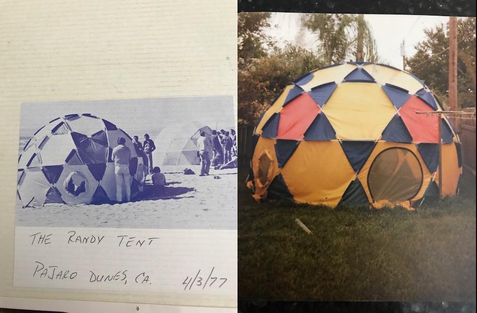Bruce Hamilton's 4 Meter Dome - 1977