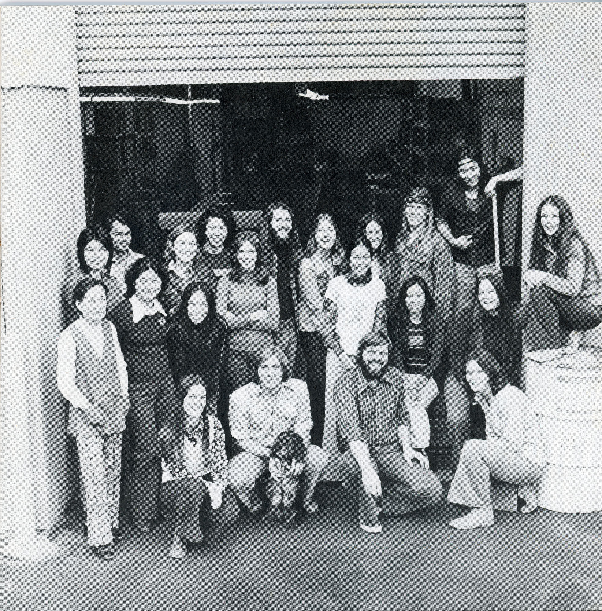Wilderness Experience Factory Employees 1975