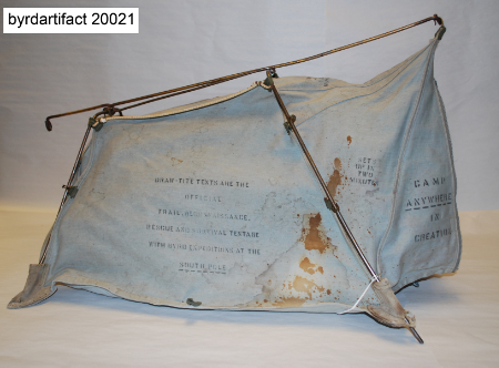 Blanchard Draw Tite Tent from Bryd Expedition
