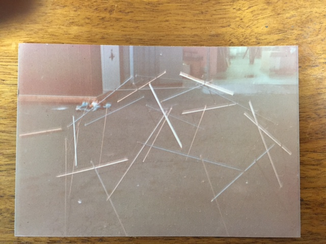 Early Attempt at a Tensegrity Temt