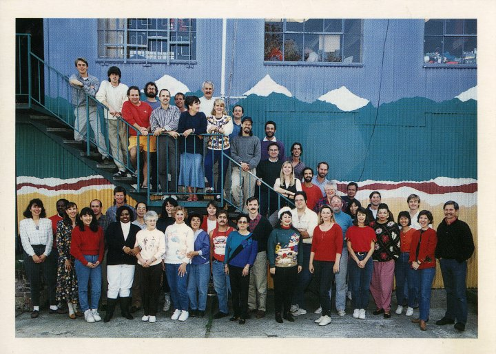 Sierra Designs Employees in 1993 or so