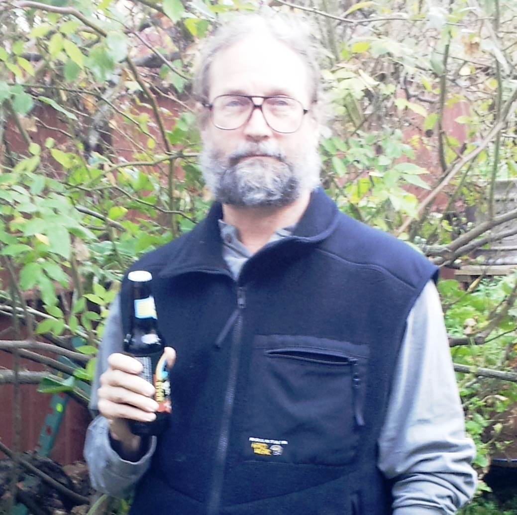 Al Tabor with Chill Factor Vest and Beer