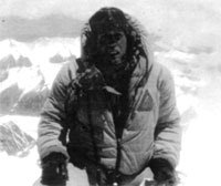 Keith Brown at the Mt.Everest summit