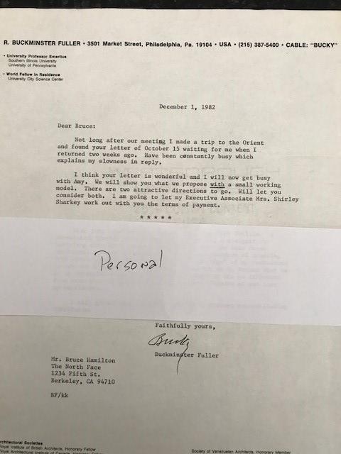 Bucky's Reply 12/1/82