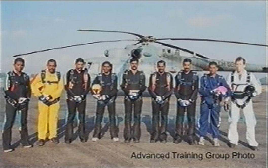 Sri Lankan Paratroopers