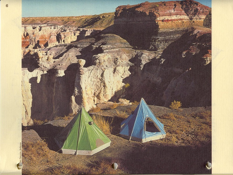 3-Person Tent and Pleasure Dome from 1974 Sierra Designs Catalog