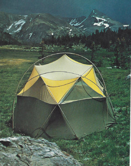 Oval Intention Tent as Pictured in the Fall 1975 TNF Catalog