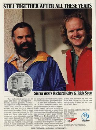 Rich Kelty and Rick Scott, Sierra West