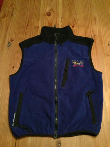 MHW Test Team Windstopper Vest