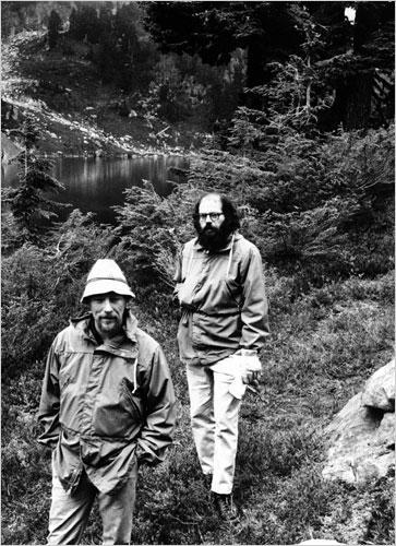Gary Snyder & Allen Ginsberg