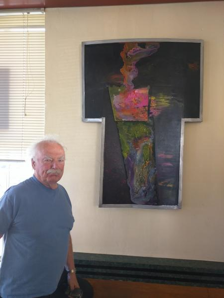 Doug Heine and sculpture