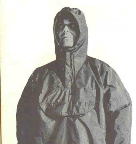 Doug Thompkin in Cagoule, 1966 Sierra Designs catalog
