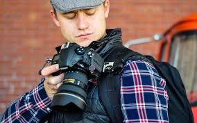 Peter Lockett and Camera Clip