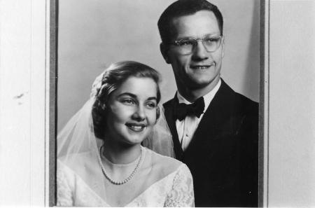 Tom Tabor and Ann Austin wedding photo