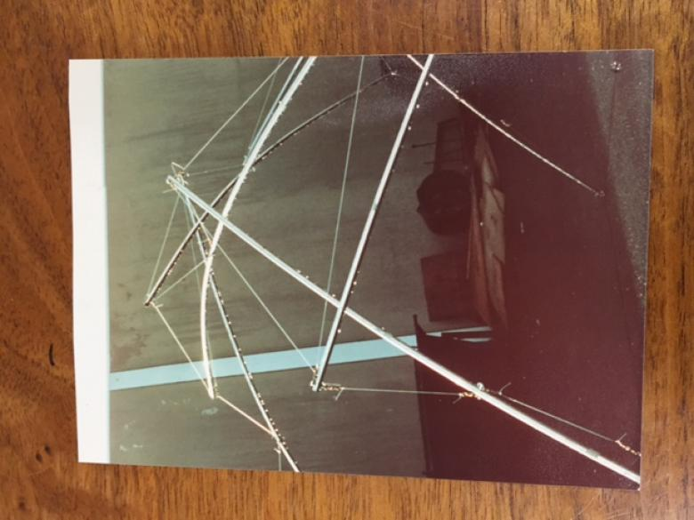 Tensegrity Tent Early Try 3