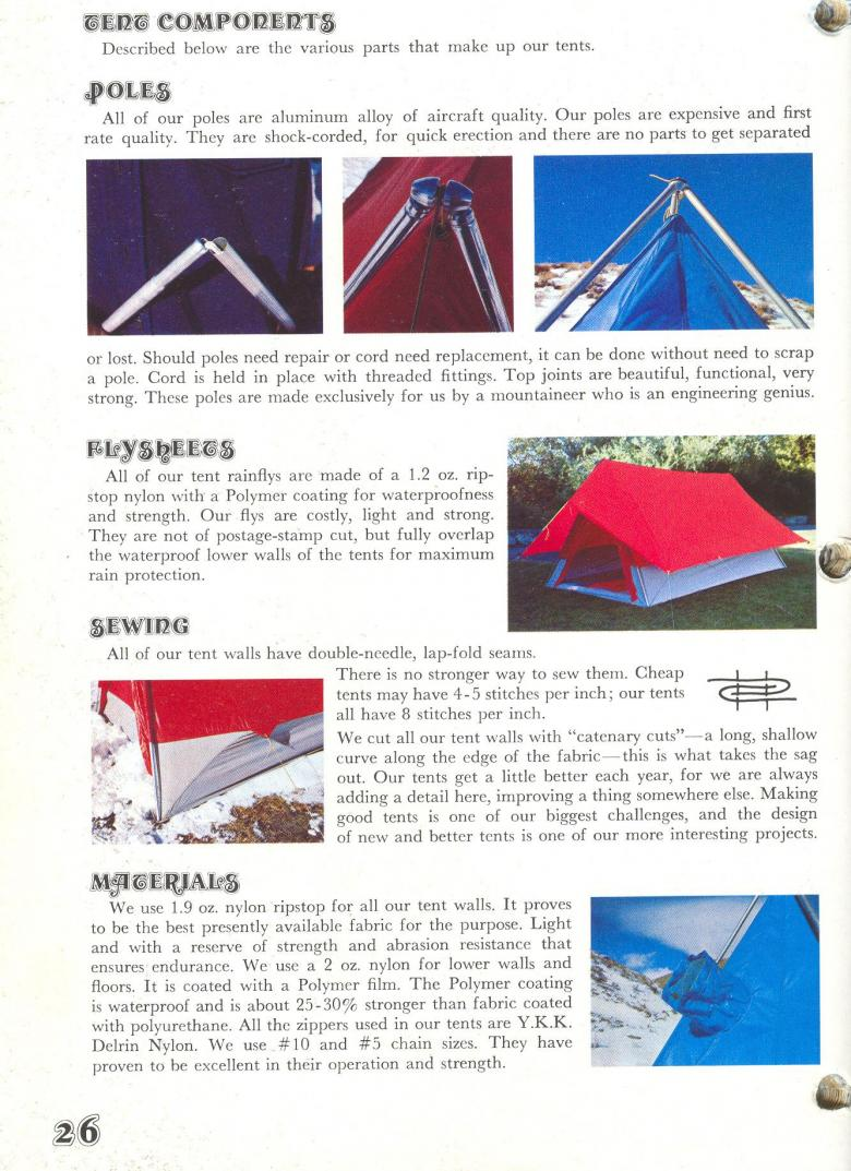 Catalog Images - click for full size. u003cu003e  sc 1 st  OutInUnder & Historic Sierra Designs Catalog - 1972 | OutInUnder - Slow Social ...
