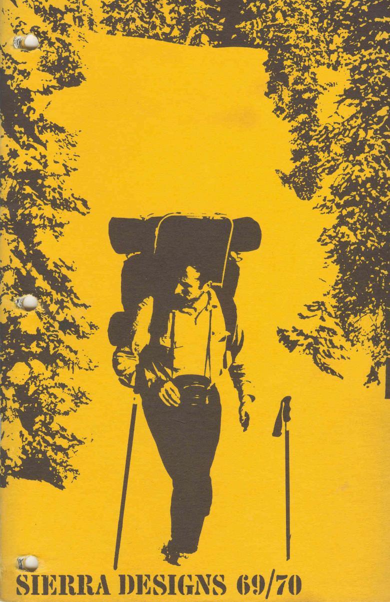 Cover of 1969-70 Sierra Designs catalog