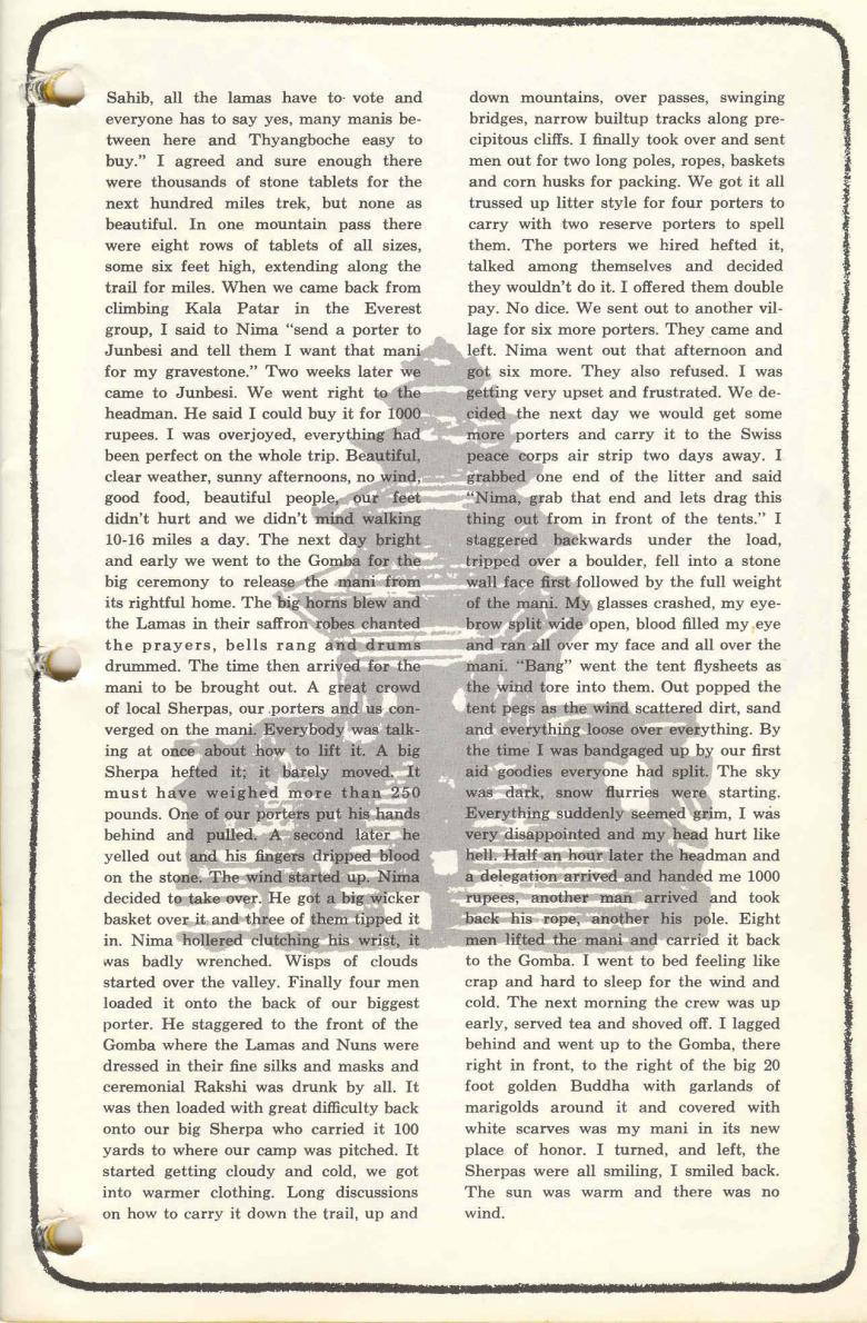 Letter by David Buschman
