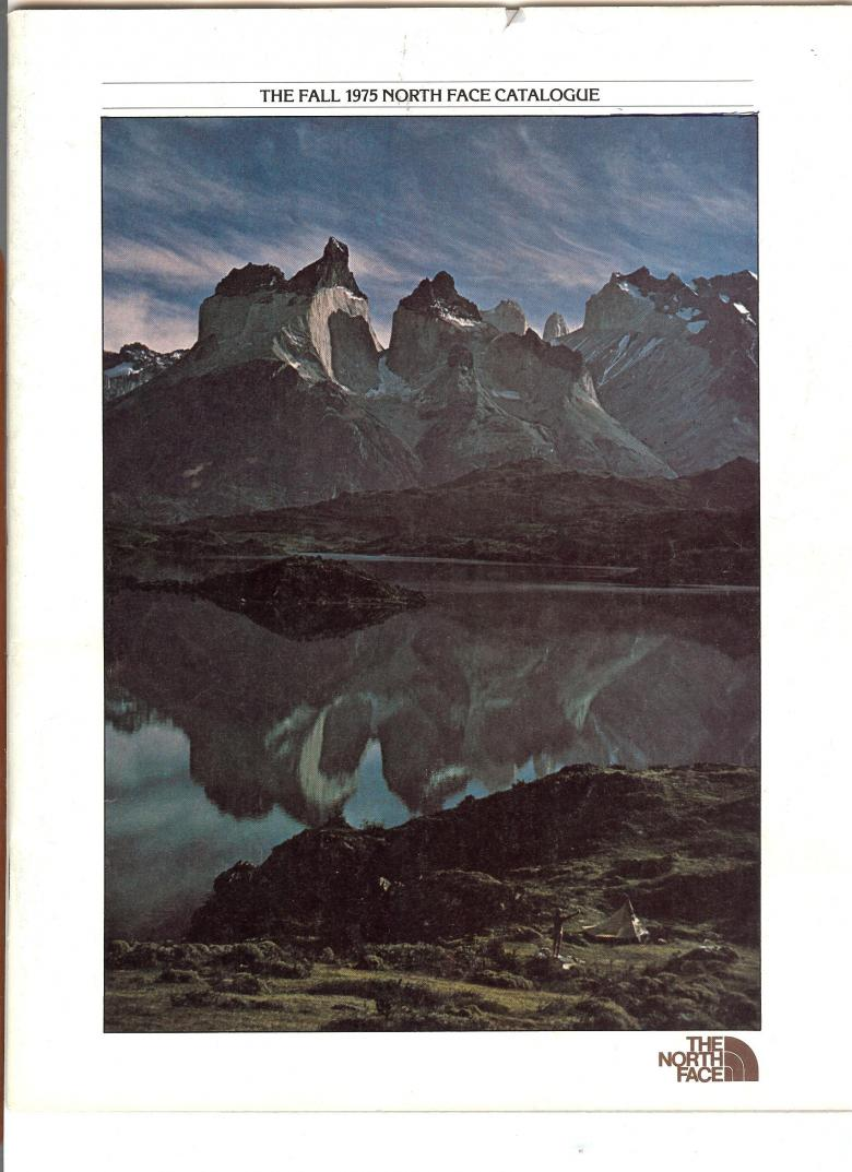 The North Face 1975 Catalog - Cover